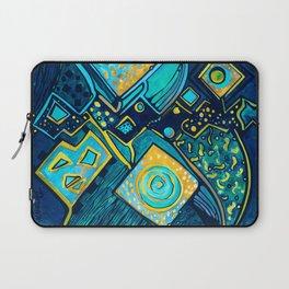 GALAXY SPARKLES BLUE Laptop Sleeve