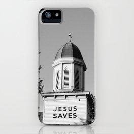 Jesus Saves Charleston iPhone Case