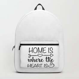 Home is where the heart is Backpack