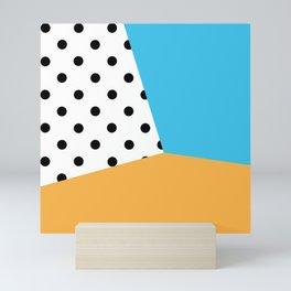 Complementary Dots Mini Art Print