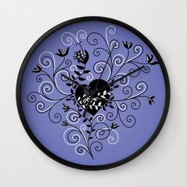 Mended Broken Heart Wall Clock