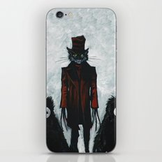 the cat in the hat iPhone & iPod Skin