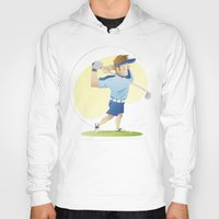 golf Hoodies featuring Golf by Guixarades