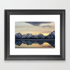 Grand Reflection  Framed Art Print