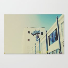 Venice Beach Architecture Canvas Print