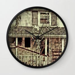 Don't Open The Window! Wall Clock