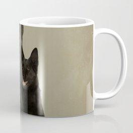 Black German Shepherd Dog - GSD Coffee Mug