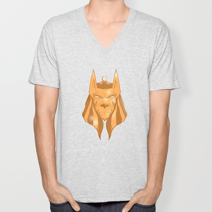 Anubis golden Unisex V-Neck