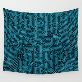Reboot BLUE Wall Tapestry
