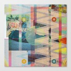 DIPSIE SERIES 001 / 02 Canvas Print
