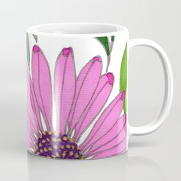 Echinacea by Mali Vargas Coffee Mug