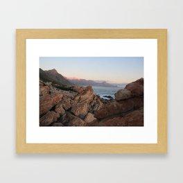Where Dinosaurs Roamed - Gordons Bay, South Africa Framed Art Print