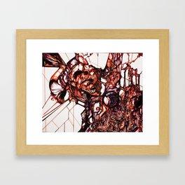 Masked Attraction Framed Art Print