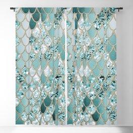 Mermaid Glitter Scales #3 #shiny #decor #art #society6 Blackout Curtain