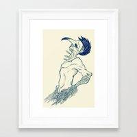 birdman Framed Art Prints featuring Birdman by DogoD Art