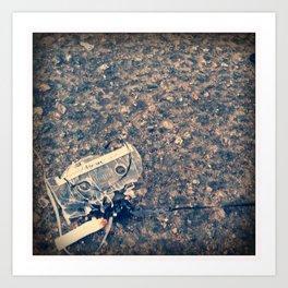 Lost Mix Tape Art Print