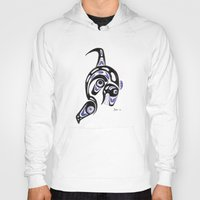 killer whale Hoodies featuring Killer Whale Number 1 by The Marko