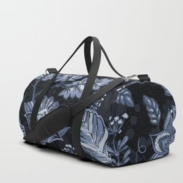 Blooms in the blue night Duffle Bag