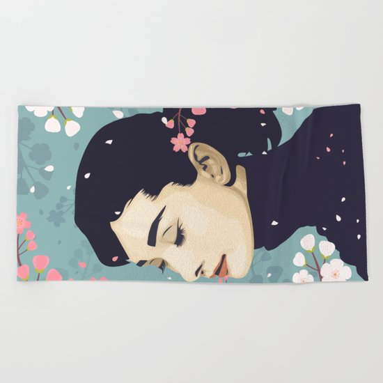 Bloom Hepburn Beach Towel