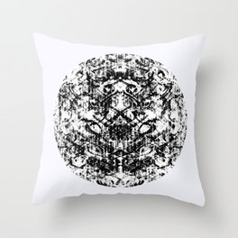Mendhi Colourless Throw Pillow