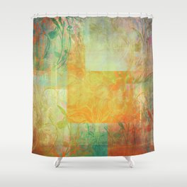 French Mosaic No1 Shower Curtain