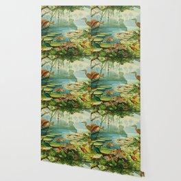 Amazonian birds by Göldi & Emil 1859-1917 Belem Brazil Colorful Tropical Birds Wallpaper