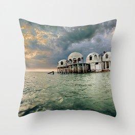 Cape Romano Throw Pillow