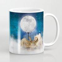 sandman Mugs featuring Good Night Moon by Diogo Verissimo