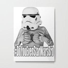 Monroe Trooper Metal Print