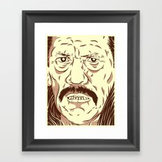 Don't fuck with the wrong mexican Framed Art Print