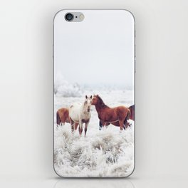 Winter Horseland iPhone Skin