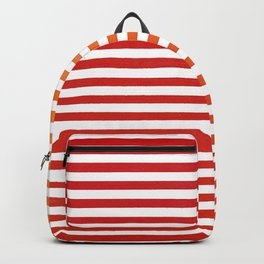 Red Strips Backpack