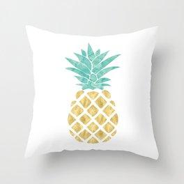 Gold Pineapple Deko-Kissen