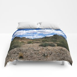 Red cloud mining district, Yuma, Arizona Comforters