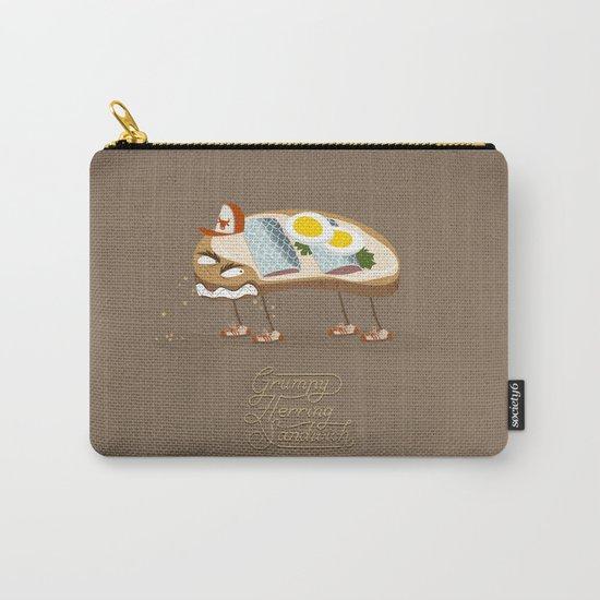 Grumpy Herring Sandwich Carry-All Pouch
