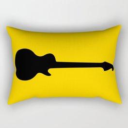 Simple Guitar Rectangular Pillow