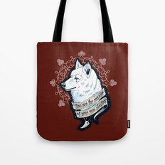 Wolf Protector (Red Edition) Tote Bag