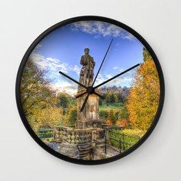 Allan Ramsey And Edinburgh Castle Wall Clock