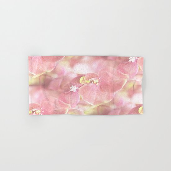 Some Soft Pink Flowers Hand & Bath Towel