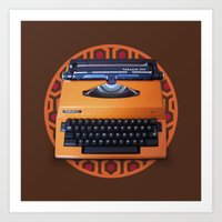 kubrick Art Prints featuring Kubrick Still Life #3 by Quick Brown Fox