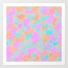 Confetti bloom  Art Print