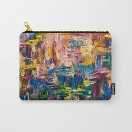 Abstract - Colorful World by Lena Owens Carry-All Pouch