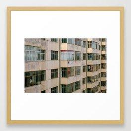 Apartment Blocks, Wudan, Inner Mongolia Framed Art Print