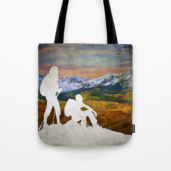 Autumn Hike Tote Bag