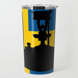 Sweden flag | Pressure stove Travel Mug