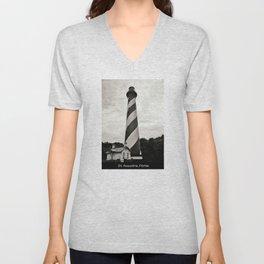 St. Augustine Florida Lighthouse Unisex V-Neck