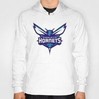 nba Hoodies featuring NBA - Hornets by Katieb1013