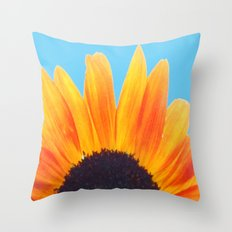 My Love Is A Flower Throw Pillow