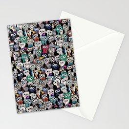 Owl Gem Shrine Stationery Cards