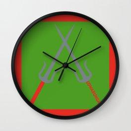 Cowabunga (Raphael Version) Wall Clock